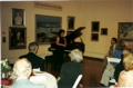 Vicki Bragin performing for Museum Donors