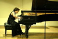 Vicki Bragin performing during the 2002 Amateur Cliburn Final Round